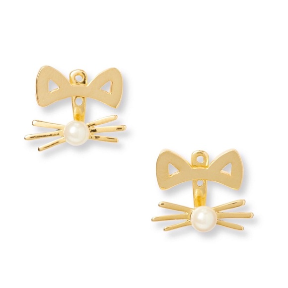 kate spade Jewelry - KATE SPADE • Out West Cat Jackets Earrings